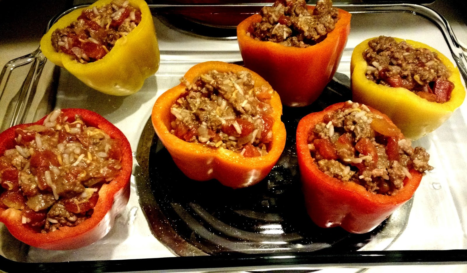 Stuffed and ready for the oven.