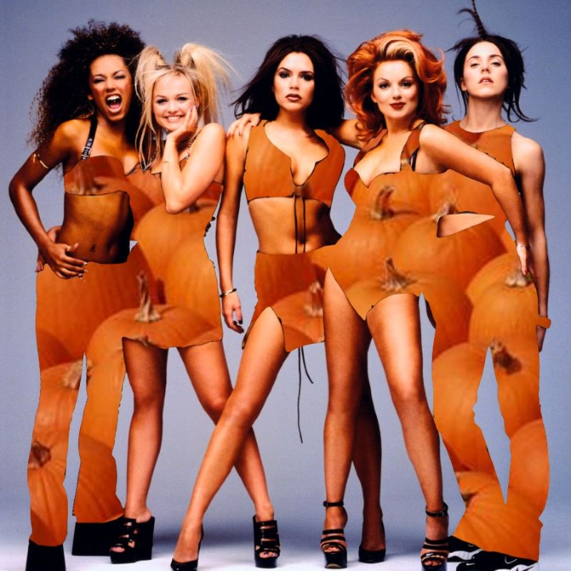 Pumpkin Spice Girls