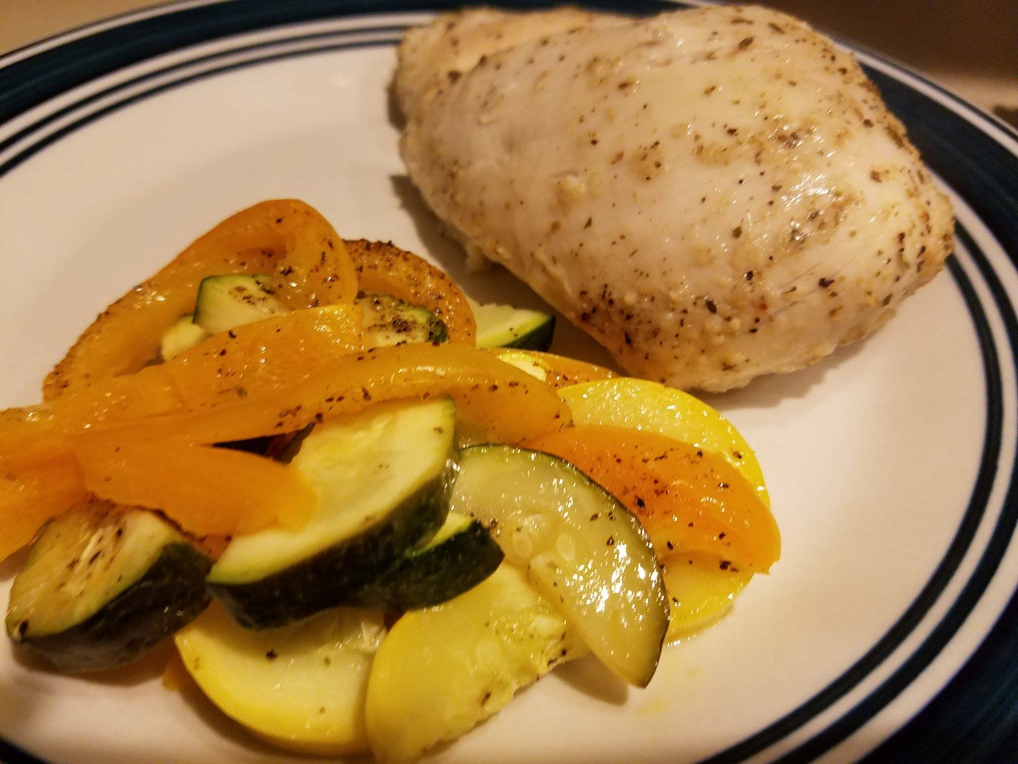 Easy Chicken and Vegetable Dinner