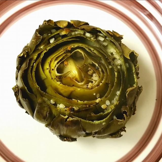 Oven-Roasted Artichokes