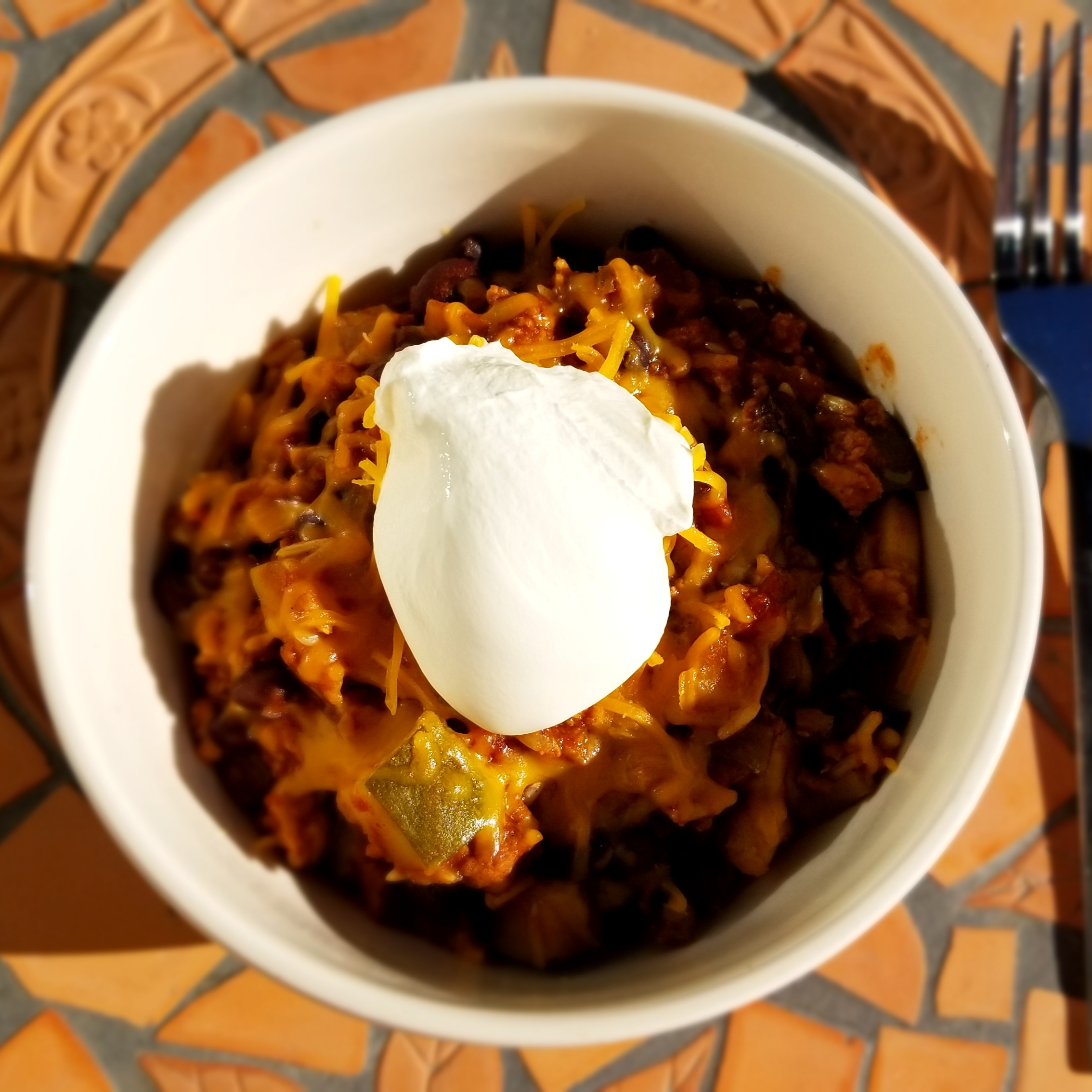 Slow Cooker Summer Chili