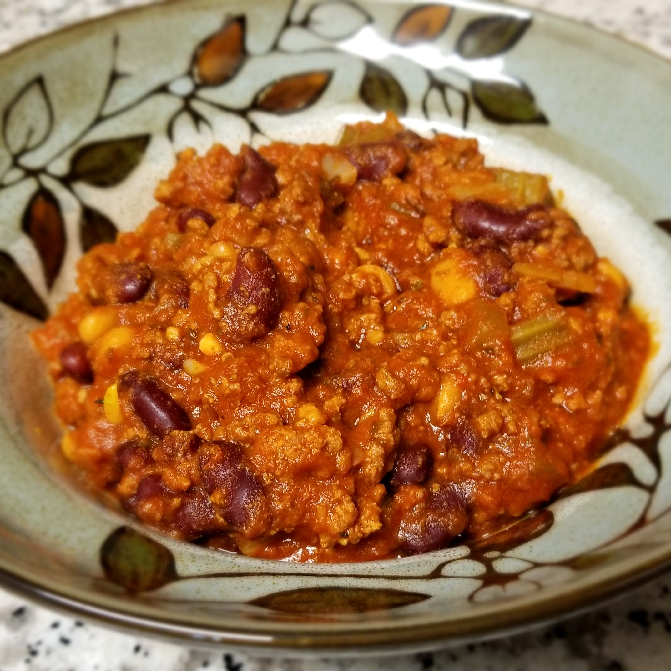 Spicy Crockpot Chili