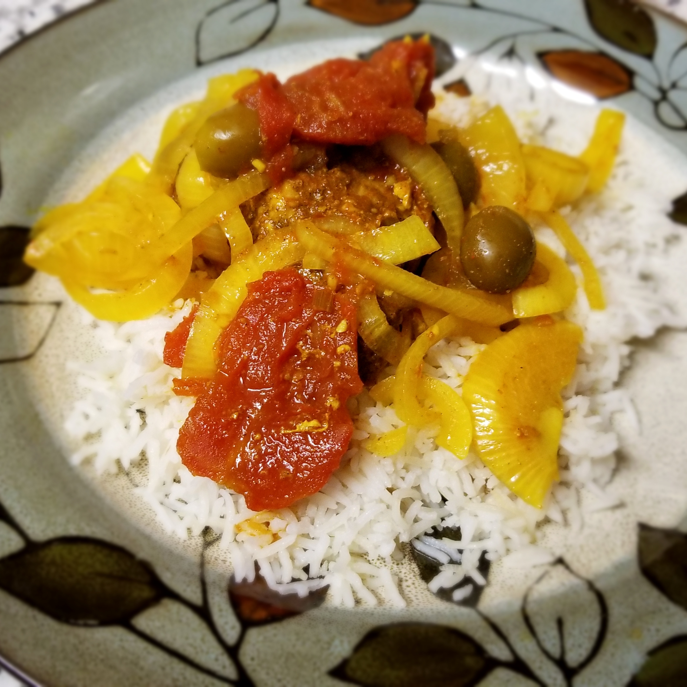 Slow Cooker Moroccan Chicken and Olives