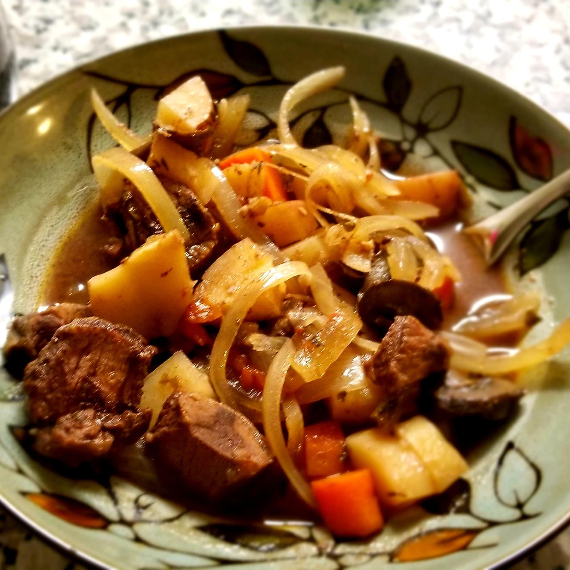 Root Veggie Beef Stew