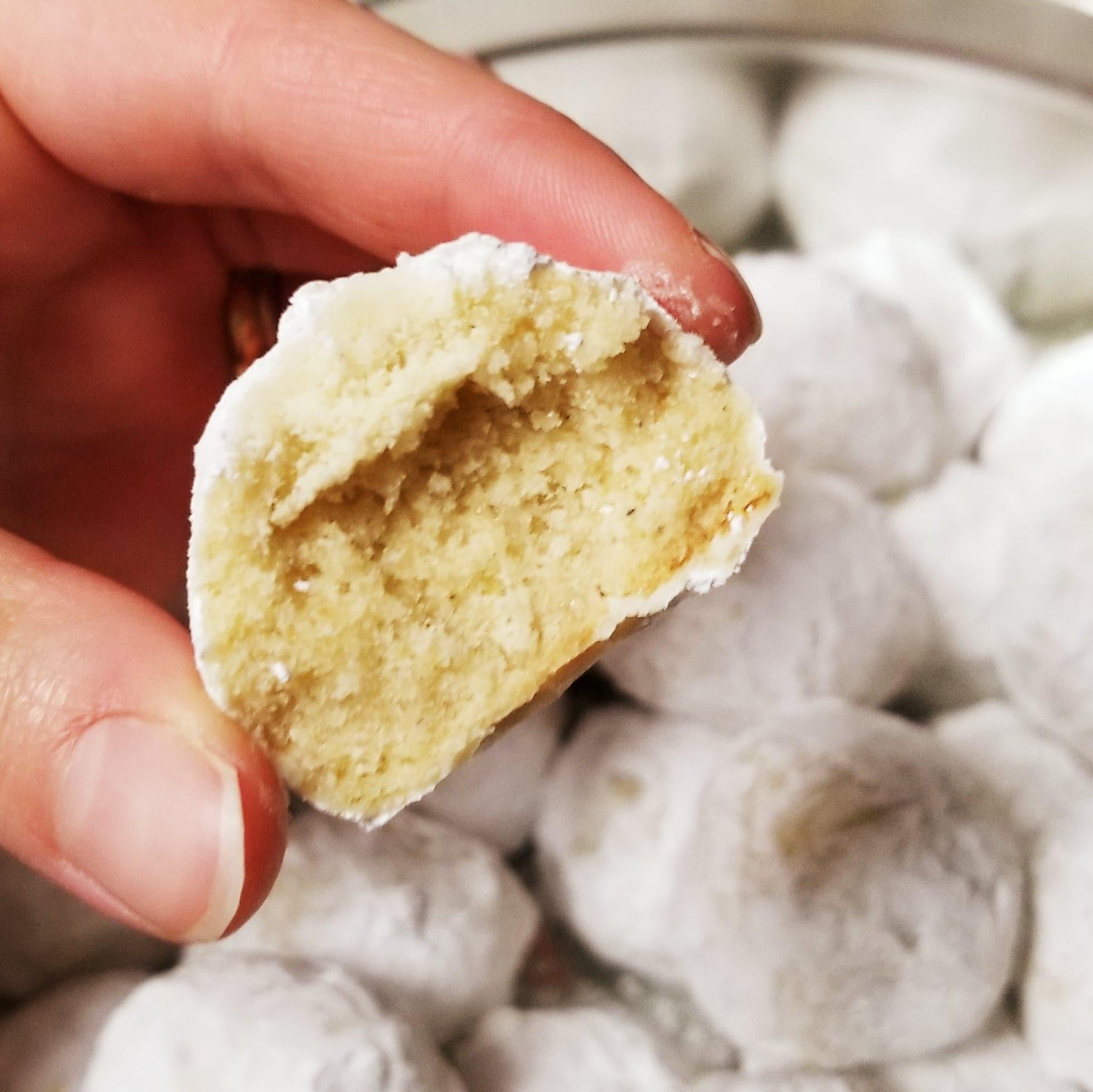 Cardamom Snowball Cookies