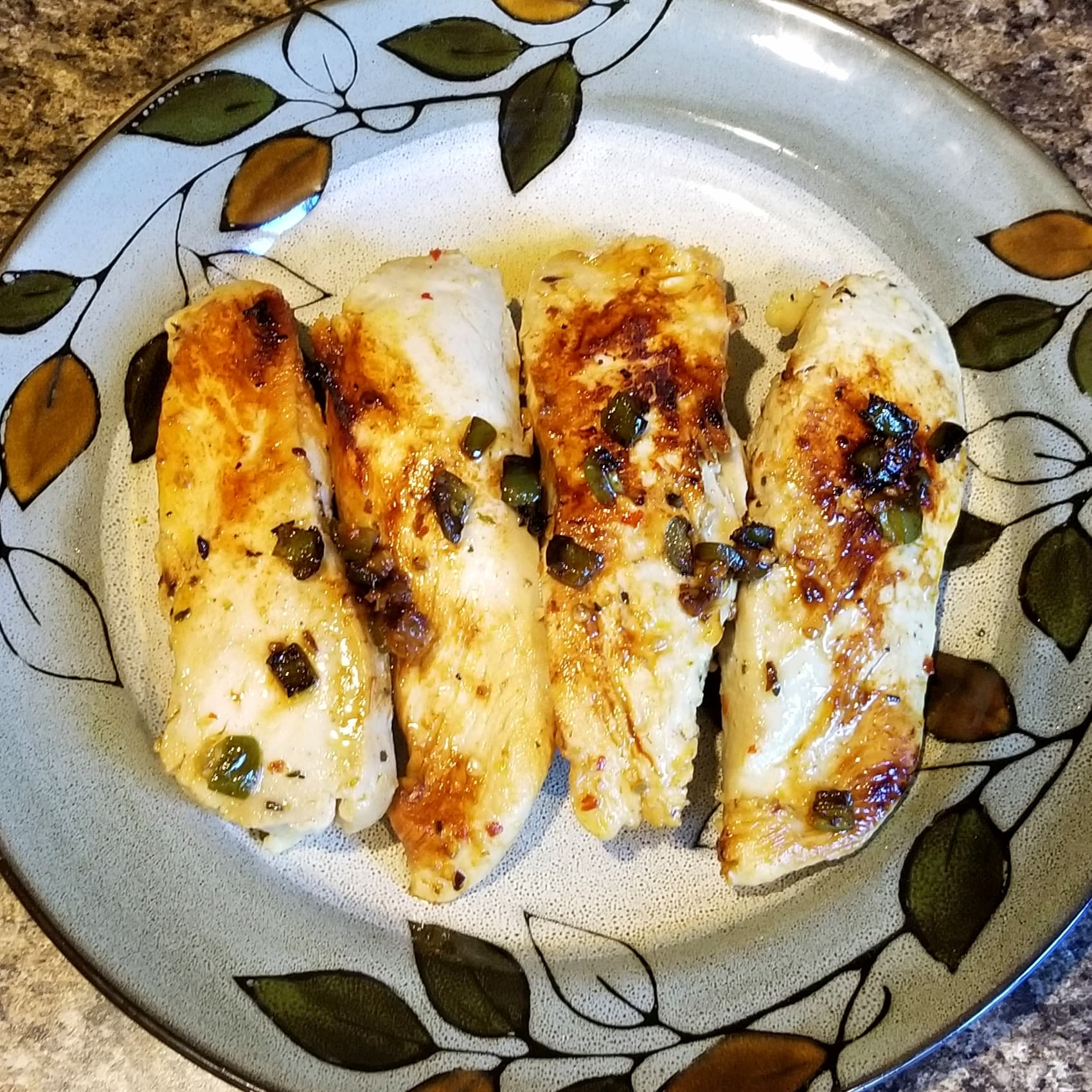Jalapeno Lime Marinated Chicken