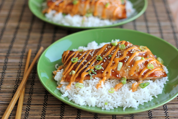 Spicy Teriyaki Salmon
