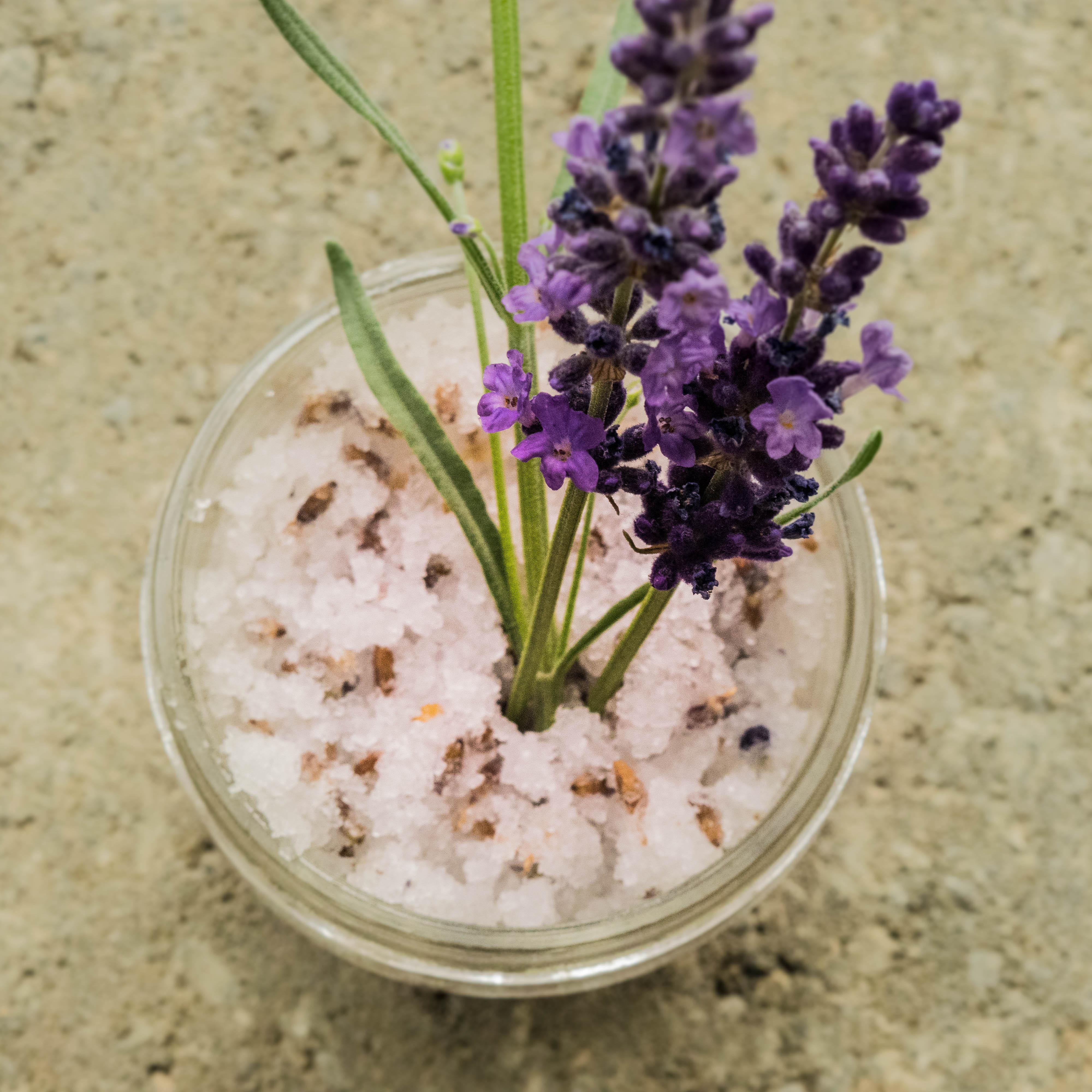 Lavender Salt Scrub