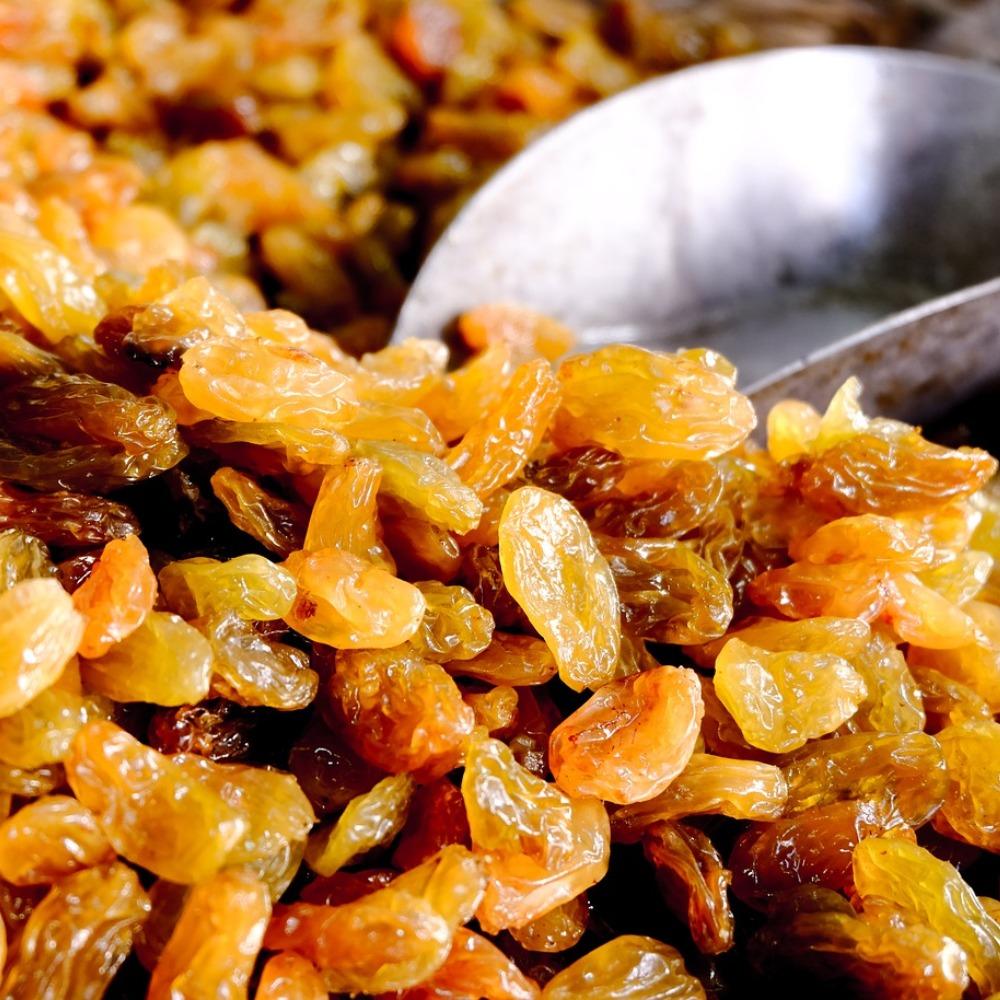 Oven-Dried Raisins